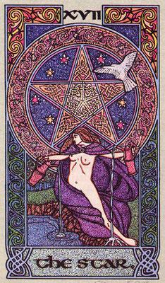 XVII L'Étoile - Le tarot Celtique