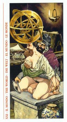 Tarot Decameron - XXI Le Monde