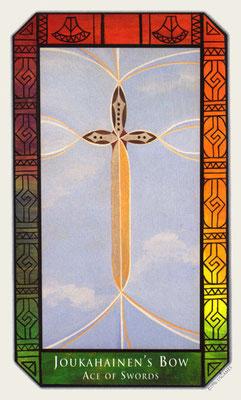 As d'Épées - Tarot Kalevala
