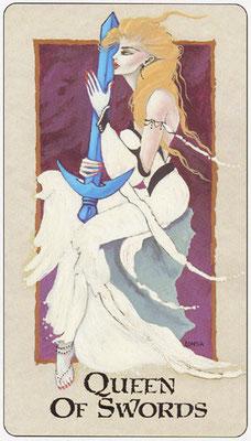 Reine d'Épées - Londa Tarot