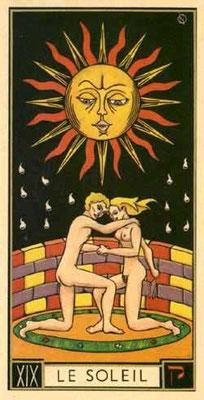 XIX Le Soleil - Le tarot d'Argolance