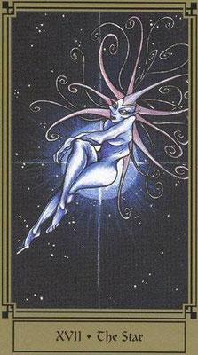 XVII L'Étoile - Le tarot Fantastique