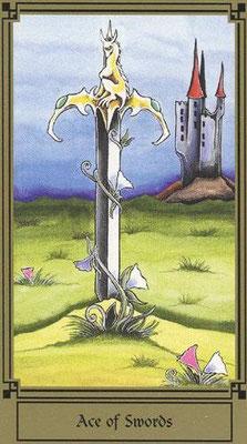 As d'Épées - Le tarot Fantastique