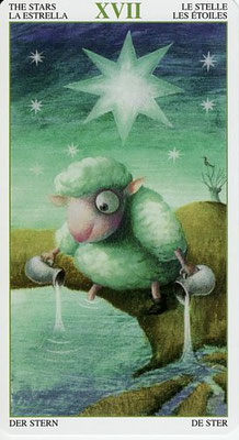 XVII L'Etoile - Tarot de la Forêt Magique