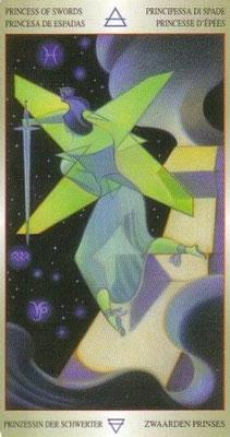 Valet d'Épées - Liber T Stars Eternal Tarot