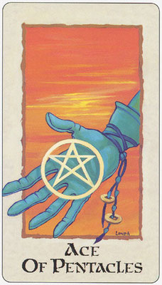 As de Deniers - Londa Tarot