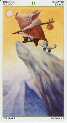 Le Mat - Le Tarot de la Forêt Magique