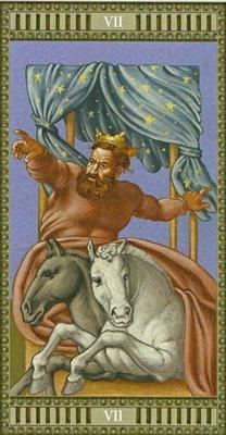 Tarot Michelangelo - VII Le Chariot