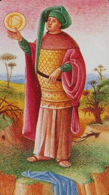 Roi de Deniers - Le tarot Bosh