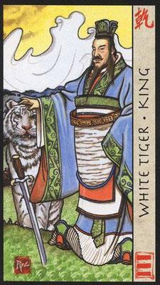 Roi du Tigre Blanc - Le Tarot Feng Shui
