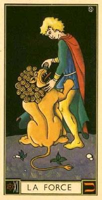 XI La Force - Le tarot d'Argolance