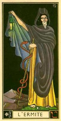 IX L'Ermite - Le tarot d'Argolance
