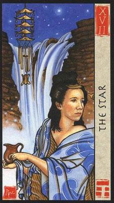 XVII L'Étoile - Le tarot Feng Shui