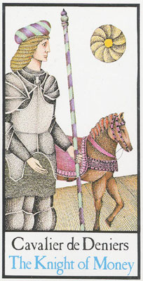Cavalier de Deniers - Tarot Maddonni