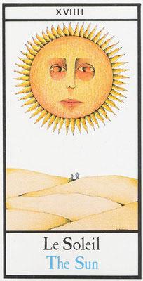 XIX Le Soleil - Tarot Maddonni