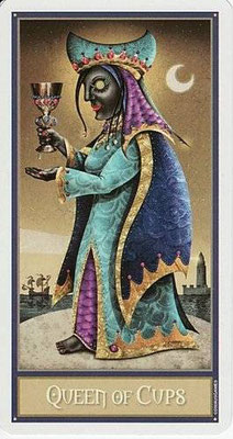 Reine de Coupes - Le tarot Deviant Moon