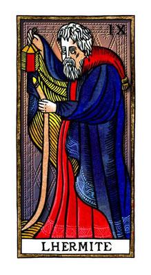 IX L'Hermite - Le Tarot de la Félicité