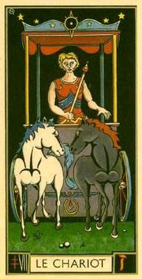 VII Le Chariot - Le tarot d'Argolance