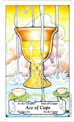 Hanson Roberts Tarot - As de Coupes
