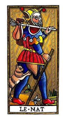 Le Fou - Le Tarot de la Félicité