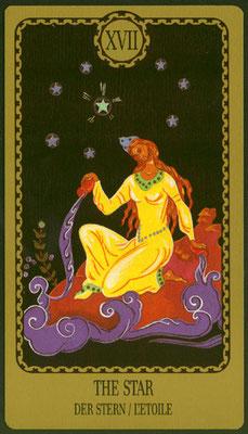 XVII L'Étoile - Le tarot Egorov