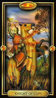 Chevalier de Coupes - The Gilded Tarot