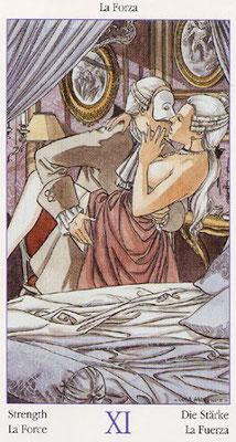 Le Tarot de Casanova - XI La Force