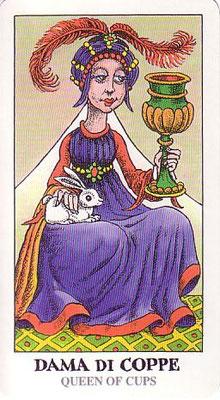 Reine de Coupes - Tarocco Bizarro