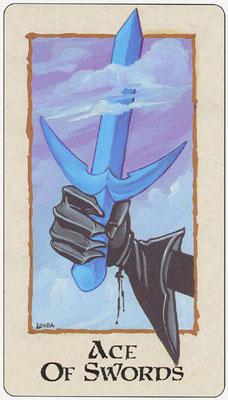 As d'Épées - Londa Tarot