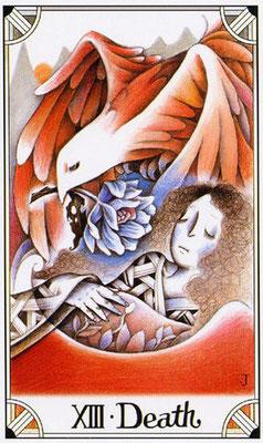 XIII L'Arcane sans nom - Jaen Tarot