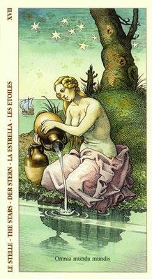 XVII L'Étoile - Le tarot Dürer