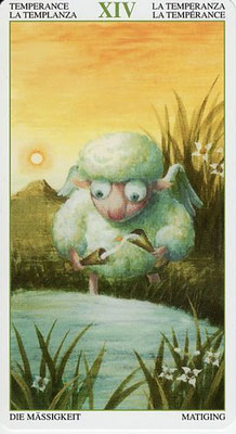 XIV Tempérance - Le Tarot de la Forêt Magique
