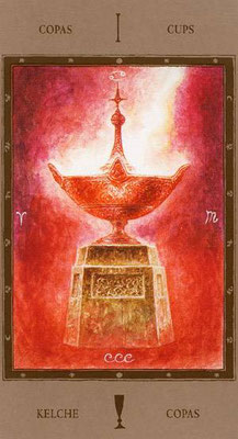 As de Coupes - Labyrinth Tarot