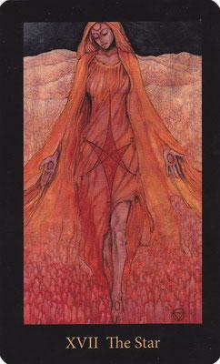 XVII L'Etoile - Mary El Tarot