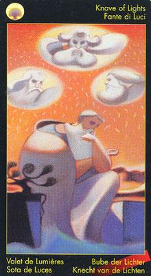 Valet de Lumières - Le tarot de Dante