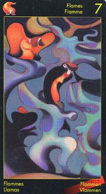 7 de Flammes - Le tarot de Dante