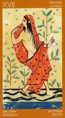 XVII L'Étoile - Le tarot Étrusque