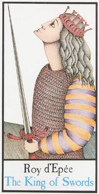 Roi d'Epées - Tarot Maddonni
