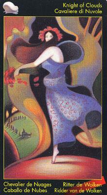 Chevalier de Nuages - Le tarot de Dante
