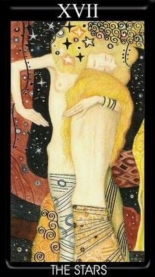 XVII L'Étoile - Tarot Klimt