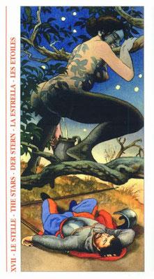Tarot Decameron - XVII L'Étoile
