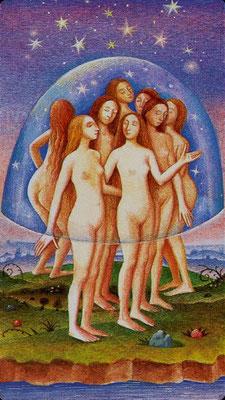XVII L'Étoile - Le tarot Bosh