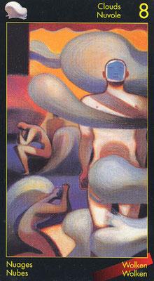 8 de Nuages - Le tarot de Dante