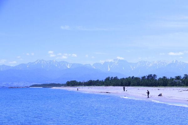 岩瀬浜からの投げ釣り