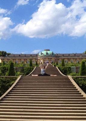 Schloss Sans-souci, Potsdam 2012