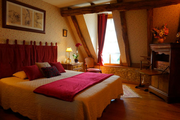 Pour un week-end en amoureux, la chambre Romantique