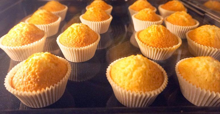 Muffins maison des chambres d'hôtes La Lysiane