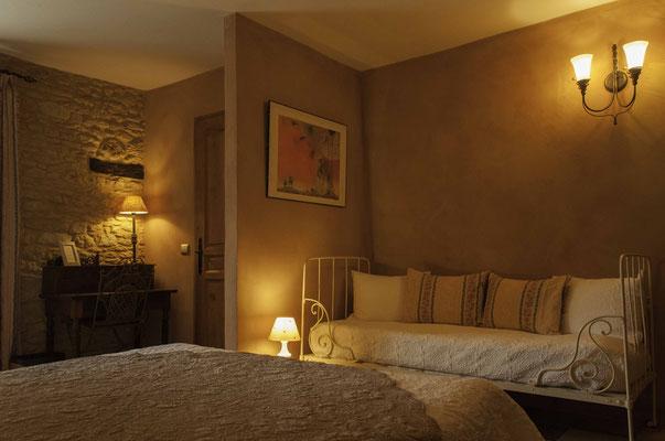 La chambre Toscane, spacieuse et confortable