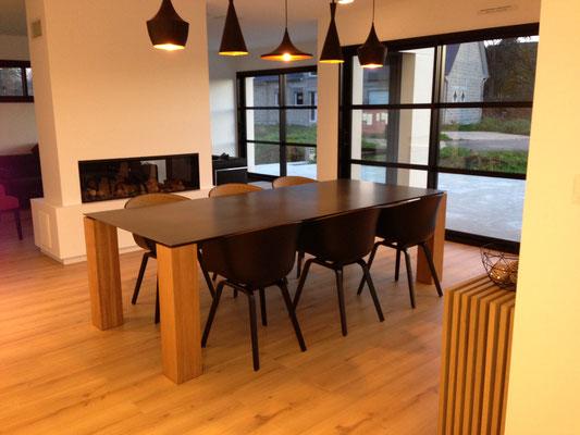 ARTMETA / Table Contraste 220 x 100 xm / Chêne naturel