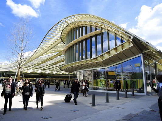 Canopée des Halles à Paris